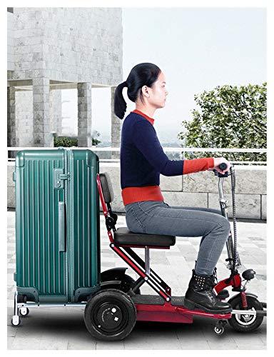 YF-Mirror Scooter de Movilidad Plegable para Adultos y Personas Mayores - Scooters...