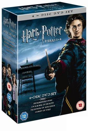 Harry Potter 1 4 Box Set [Reino Unido] [DVD]