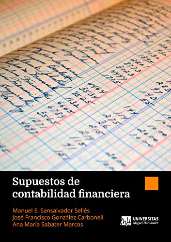 Book's Cover of Supuestos de contabilidad financiera [Print Replica] Versión Kindle