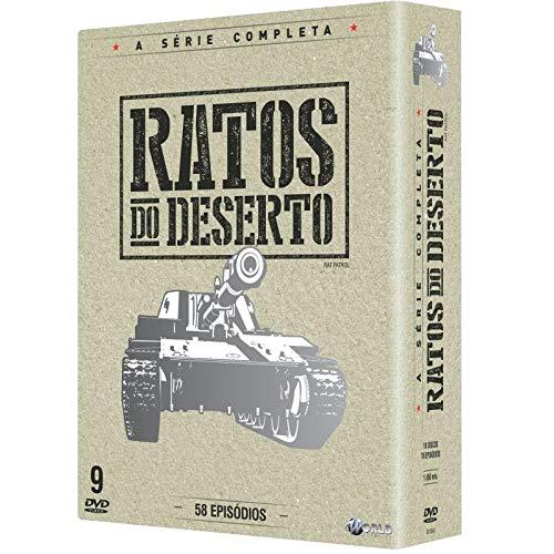 Ratos do Deserto - Serie Completa Digibook's 9 Discos