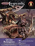 Qa'ans Resurgence Pre-constructed Expansion Army for use with Stratego Legends Game System