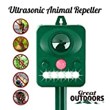 Best Animal Repellers - Great Outdoors Ultrasonic Animal Repeller - Eco-Friendly Review