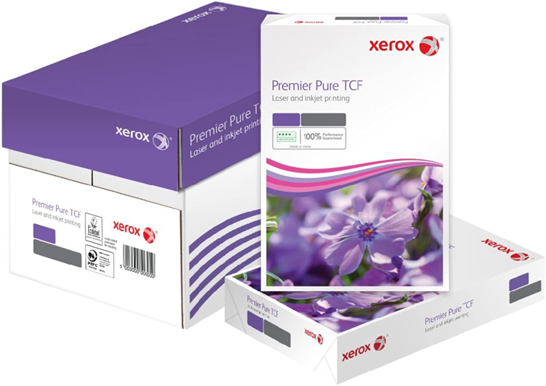 Xerox 003R91805 Premier Pure TCF Kopier- Druckerpapier, DIN A4, 80 g m², Karton mit 5 Pack a 500 Blatt, weiß B002GJJJM8 | Neuer Eintrag