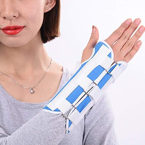 Muñequera, soporte de muñeca, esguince de muñeca, alivio del dolor de muñeca, corrección de fractura, soporte de recuperación para hombres y mujeres, soporte ajustable para muñeca (# 2M)