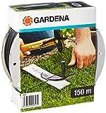 GARDENA Begrenzungskabel (150 m): Begrenzungsdraht für Gardena Mähroboter, witterungsresistent, für den Außenbereich geeignet, als Leitkabel für alle Gardena Mähroboter, schwarzgrau (4088-60)