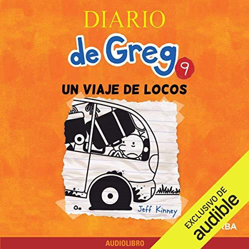 Diseño de la portada del título Diario de Greg 9
