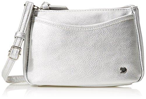 TOM TAILOR Denim Cilia Mujer Shoppers y bolsos de hombro Plateado (Silber) 4x14x21 cm (B x H x T)