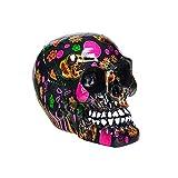 Nemesis Now Cráneo Decorativo Tipo Sugar Skull o Catrina - 8cm
