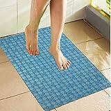 Kuber Industries™ Non Slip Bathroom Mat,Bathtub Mat,Shower Mat,Bath Mat with Suction Cups