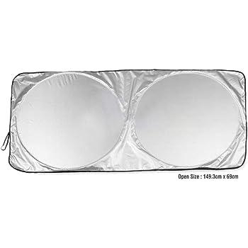 meenamart Folding Car Windshield Sun Visor Front Window UV Auto Protector Reflector for Cars