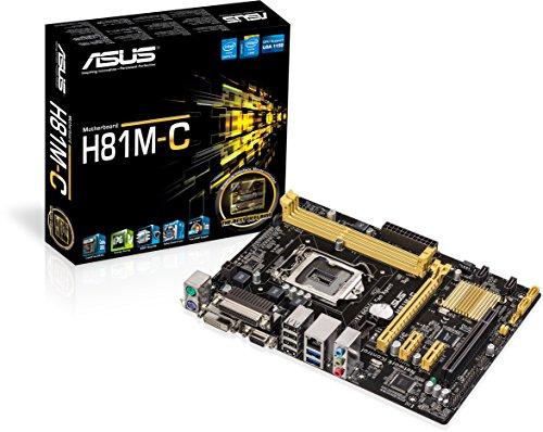 ASUS Computer Asus H81M-C Sockel LGA Bild
