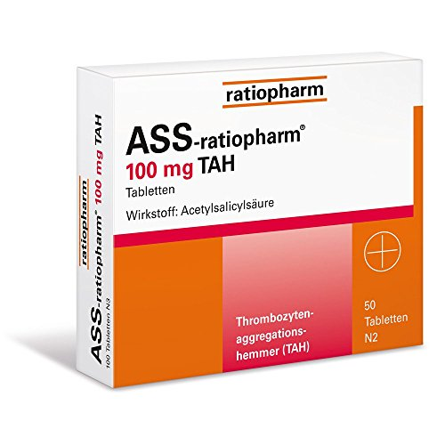 ASS-ratiopharm 100 mg TAH, 50 St.