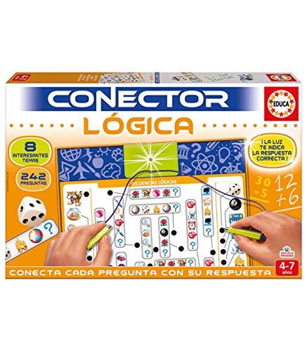 Educa - Conector Lógica: Juego de memoria y sentido lógico