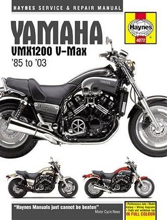 Yamaha VMX1200 V-Max 85 to 03 (Haynes Service & Repair Manual) by Editors of Haynes Manuals(2015-05-18)