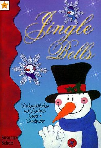 Jingle Bells: Weihnachtsmotive mit Window Color und Samt-Puder