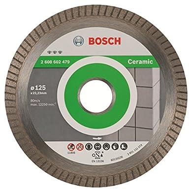 Foto di Bosch Professional Ceramic Extraclean Turbo Disco Diamantato, 125 mm