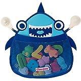 Suzy Shark Bath Toy Organizer, Bath Toy Storage, Bathtub Toy Organizer, Bath Toy Holder, Bath Toys Organizer, Bath Tub Toy Holder, Bath Toy Net, Shower Toy Holder, Bathroom Toy Storage, Baby Bath Toy