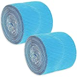 Blue Scalloped Bulletin Board Border for Classroom (2 in x 50 Ft, 2 Pack)