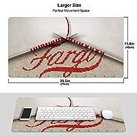 ファーゴ (6) マウスパッド ファッション 滑り止め防水 耐久性 高級感 ゲーミング 大型 マウスパッド オフィス最適