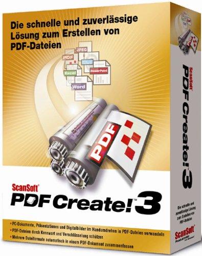 Scansoft PDF Create! 3.0 W32/NT