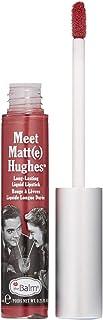 theBalm Meet Matte Hughes Long Lasting Liquid Lipstick - Charming, 0.25 oz.
