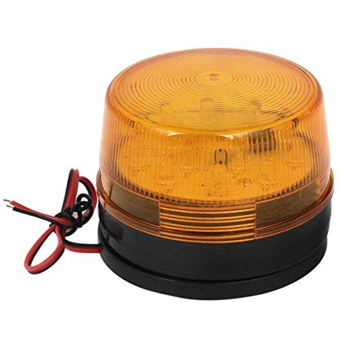 sourcing map Industrielle DC 12V LED-Blitz Stroboskop Notfall Kontrolllampe gelb LTE-5061 de DE de