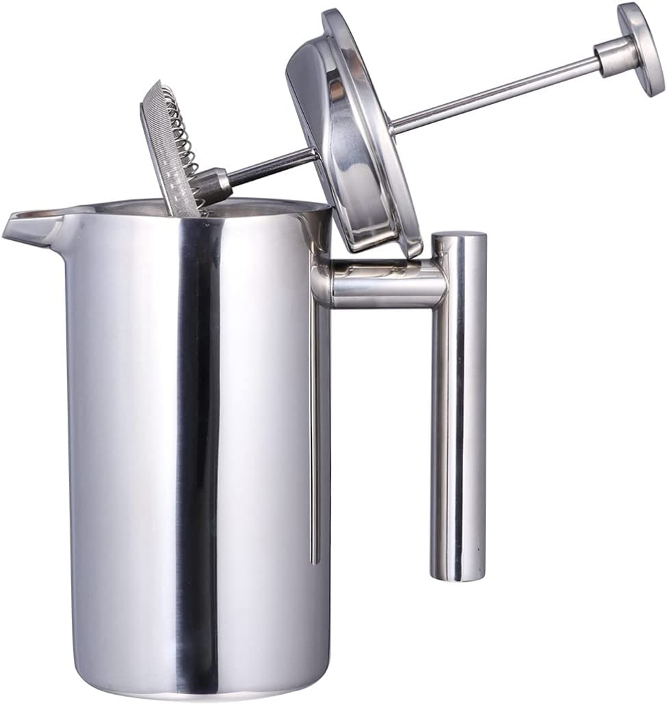 DOITOOL 350ml French Press Coffee L Double Popular brand in the world Maker In stock Steel Stainless
