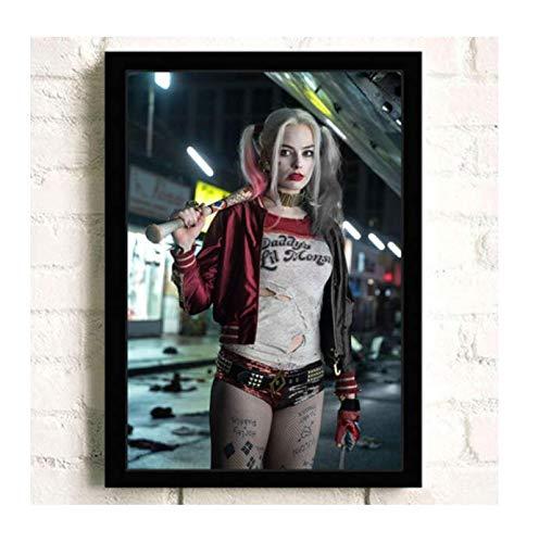H/E Suicide Squad Poster Canvas Painting Home Decoration Rahmenlos 40X60Cmy2356