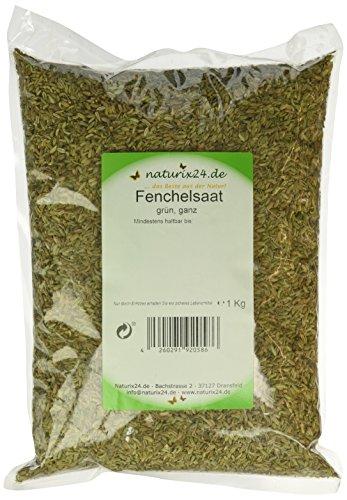 Naturix24 Fenchel süß ganz – Aromaschutzbeutel, 1er Pack (1 x 1 kg)