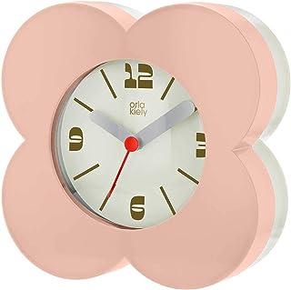 Orla Kiely Spot kwiat różowy budzik OK-ACLOCK08