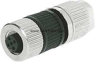 Harting 21032122305 Circular Connector w. Harax M12 L 4 F