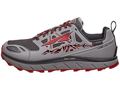 ALTRA New Men's Lone Peak 3.0 Neoshell Trail Runner Gray/Red 10