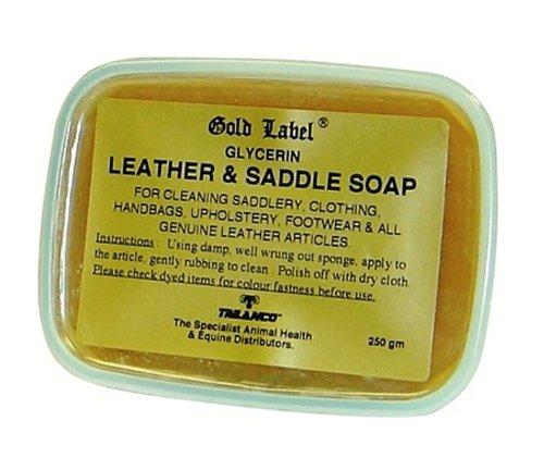 Gold Label–Glycerin Leder- und Sattelseife X 250gm