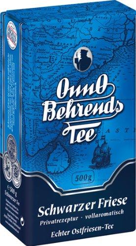 Onno Behrends Tee Schwarzer Friese, 2er Pack (2 x 500 g Packung)