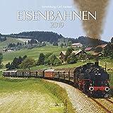 Eisenbahnen (BK) 227019 2019: Broschürenkalender mit Ferienterminen. Format: 30 x 30 cm - Carl Asmus