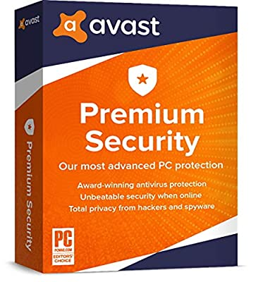Avast Premium Security 2020, 5 Devices 1 Year
