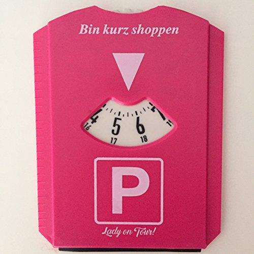 sz-sale Parkscheibe Pink Lady on Tour! Frauen Parken Geburtstag Scherzartikel