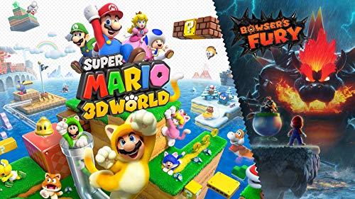 Super Mario 3D World + Bowser's Fury - Switch [Digital Code]