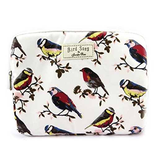 Laptop-tasche 'Bird Song'beige (tabletten).