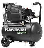 Kawasaki, Compresseur à Air d'atelier, Mobile, 1 100 W, 8 bars, Moteur à Induction,...