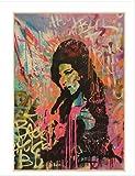 DPFRY Leinwandbild Sängerin Amy Winehouse Musik Klassische