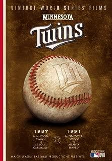 MLB Vintage World Series Films - Minnesota Twins 1987 & 1991