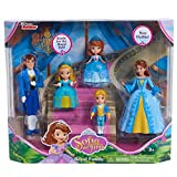 SOFIA Just Play Sofia the First Royal Family Set, Multicolor (Amazon Exclusive)