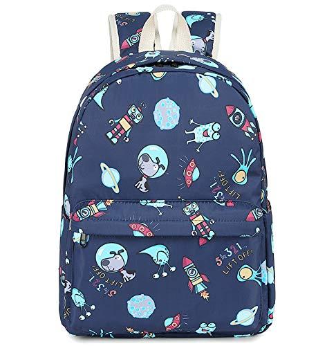 CAMTOP Preschool Backpack for Kids Boys Toddler Backpack Kindergarten School Bookbags (Cute Rocket Robot)