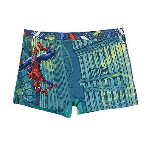 Marvel Avengers Spiderman Costume da Bagno Pantaloncino Boxer Mare Piscina Prodotto Originale con Licenza Ufficiale Bambino