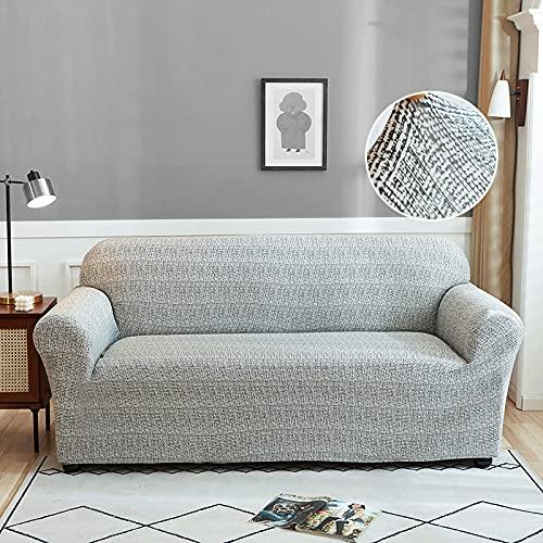 WXQY Funda de sofá elástica, Funda de sofá Universal para Sala de Estar, sillón para Mascotas, Funda de sofá de Esquina, sofá de Esquina, Chaise Longue A5, 4 plazas