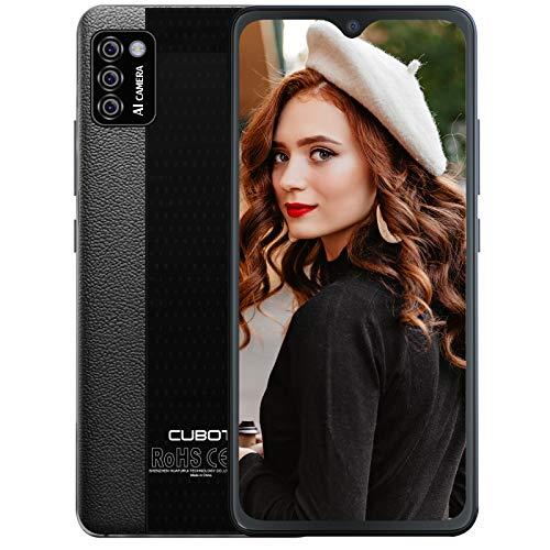 CUBOT Note 7 Android Smartphone ohne Vertrag, 3 Kameras, 5,5 Zoll Display, 16 GB/2 GB RAM, Dual SIM, 4G Handy, deutsche Version (Schwarz)