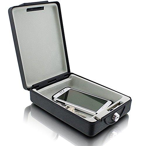 ms-point Bituxx Reisesafe Autosafe Carsafe Autotresor Tresor Kassette für Auto LKW Wohnmobile Caravan, Schutz Safe