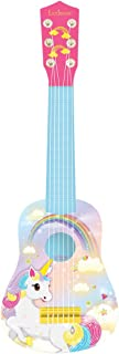 Lexibook Unicornio-Mi Primera Guitarra, 6 Cuerdas, 53 cm de Largo, Juguete niña a Partir de 3 años (K200UNI), Color rosa 1