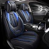 Stile Di Sport Set Seggiolino Per Auto, Una Serie Completa Di Cuscini Di Seduta Auto, Adatto Per BMW, 1, 3, 5, 7 Serie X1 / X3 / X5 / X6,Blu